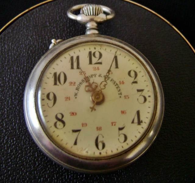 O Roskopf Patent, que era do meu bisavô, depois foi de meu avô, depois do meu pai e agora está comigo.